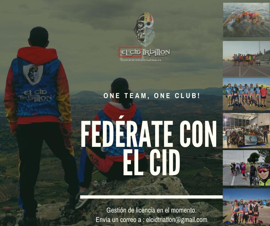 Federate con el Club de Triatlón en Valdemoro El Cid